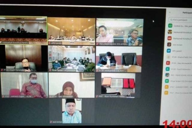 Jawaban KPU Jambi di Sidang MK Patahkan Keterangan Pemohon CE-Ratu