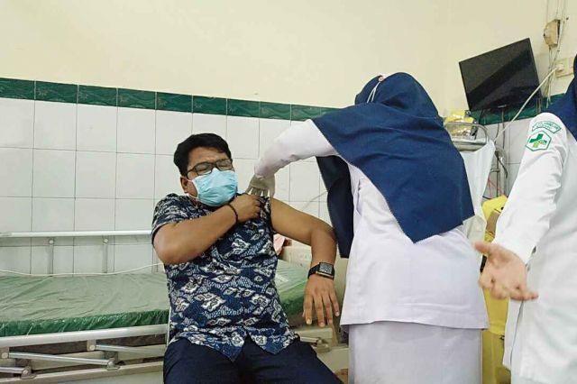 HPN 2021, Wartawan Dihadiahi Al Haris Suntikan Vaksin Covid-19