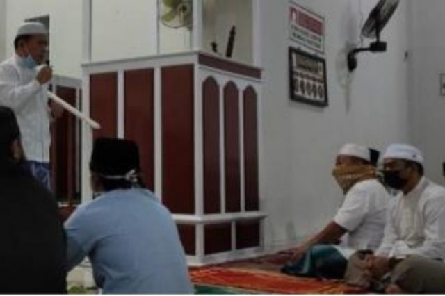 Al Haris Subuh Berjemaah di Desa Mentawak