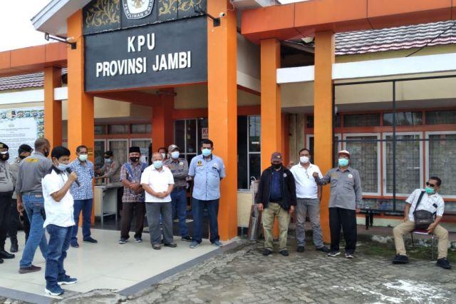 Desakan Nonaktifkan Sanusi, Ketua KPU Jambi: Sementara Diroling Divisi