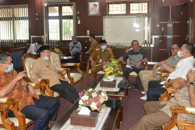 Al Haris Sambut Kunker Komisi III DPRD Provinsi Jambi