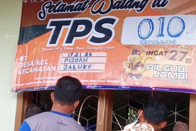 Di TPS CEPULUH Jaluko, CE Menang
