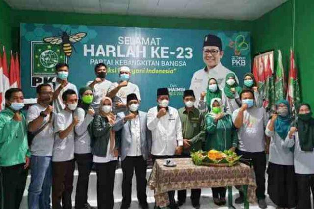 Wagub Abdullah Sani Hadiri Harlah PKB ke-23