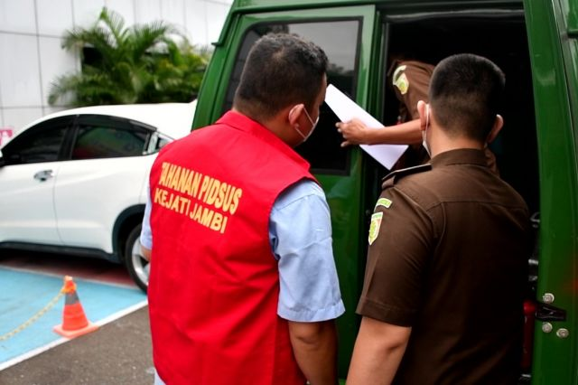 Kasus Dugaan Kredit Fiktif, Kejati Jambi Tahan Account Officer Bank BRI Syariah Bungo