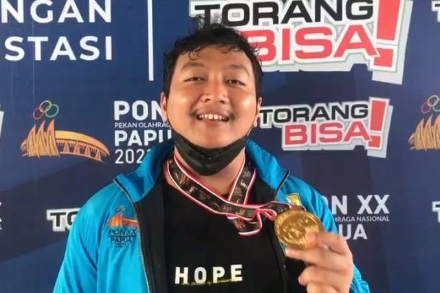Jambi Raih Medali Emas Keenam di PON Papua Lewat Cabang Olahraga Angkat Besi