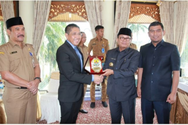 Fachrori Sambut Baik Kunjungan Kerja Menteri dan Konsul Singapura