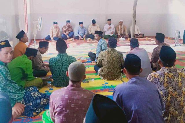 Silaturahmi dengan Ulama di Rimbo Ulu, Haris-Sani Disebut Pasangan Ideal Menyentuh Santri dan Ulama