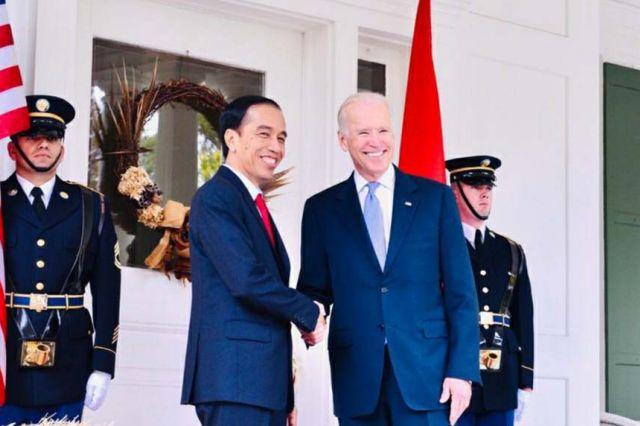 Ucapkan Selamat ke Joe Biden, Jokowi Harap Kerja Sama Indoensia-AS Menguat