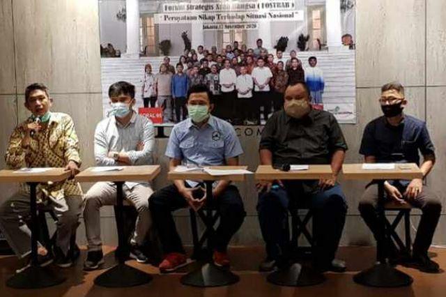 FOSTRAB Ajak Seluruh Relawan Jokowi Rapatkan Barisan Kawal Visi dan Misi Presiden