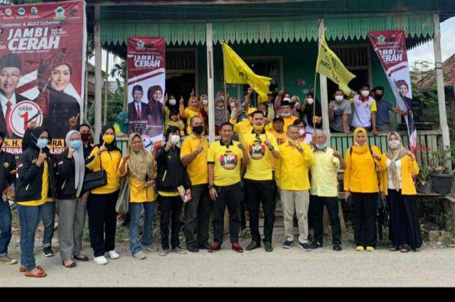 Golkar Kota Jambi Roadshow di Seluruh Wilayah untuk Memenangkan CE-Ratu