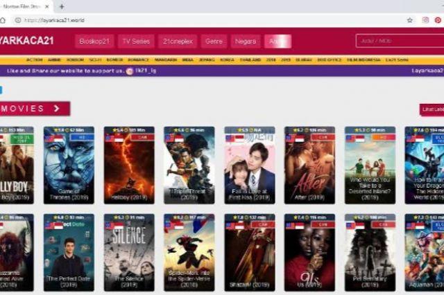 Deretan Situs Nonton Film Subtitle Indonesia yang Mirip LK21