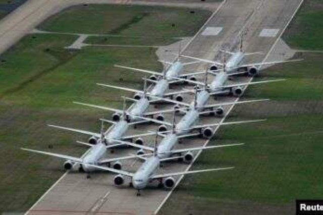 Dampak Corona, Pesawat Hanya Angkut Satu Orang Pasca Penumpang Berkurang Drastis