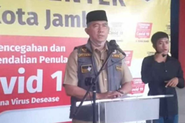 Pasien Kelima Positif Covid-19 di Kota Jambi Dinyatakan Sembuh