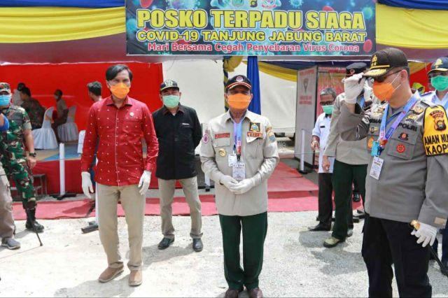 Proteksi Ketat di Perbatasan Provinsi Jambi Dilakukan
