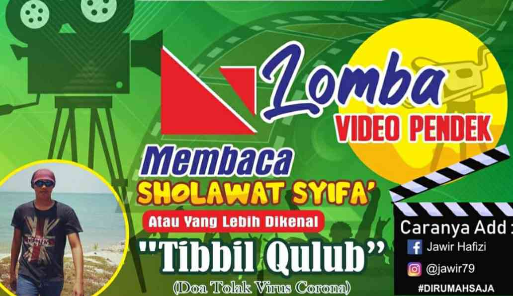 Lomba Sholawat pendek Tibibil Qulub GP Ansor Tebo