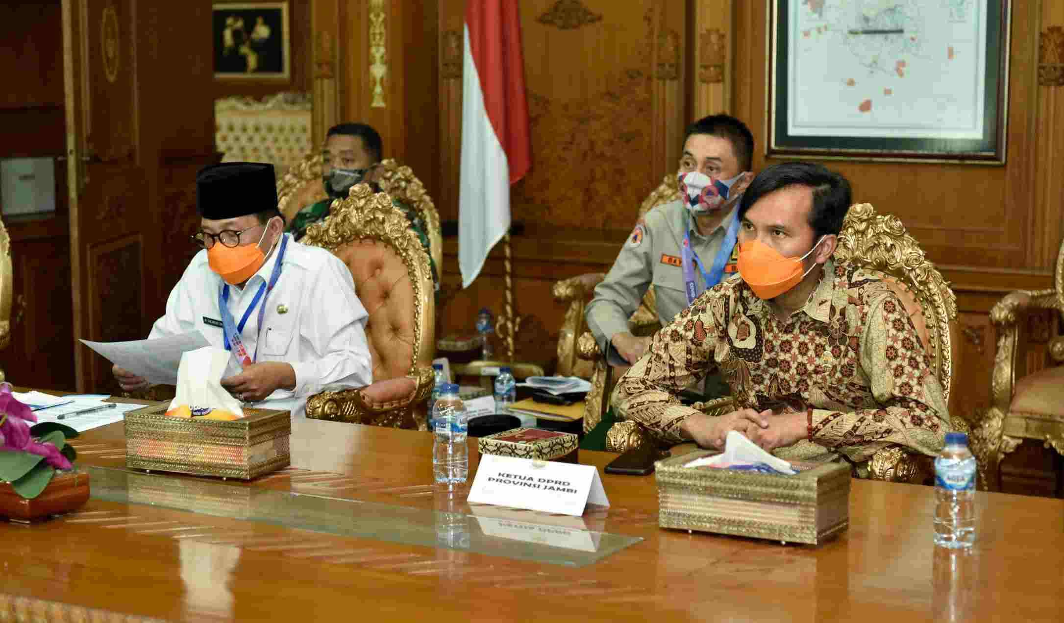 Laporkan Penanganan Covid-19 ke Kepala BNPB, Fachrori Harap Semua ...